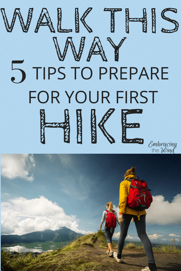 prepare for first hike