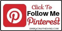 Follow embracingthewind on pinterest