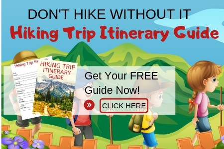 Kids hiking trip itinerary guide