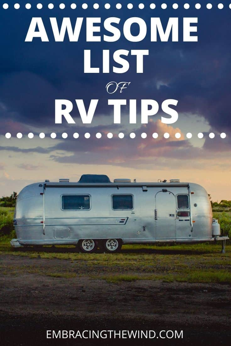 Camper RV Tips