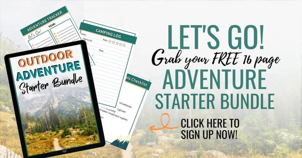 Outdoor adventure starter bundle sign up